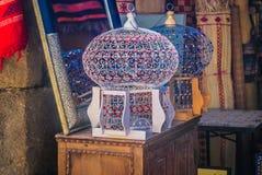Elementos interiores das decorações, África Marrocos Fotos de Stock Royalty Free