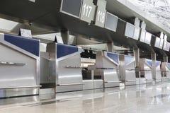 elementos interiores en el terminal de aeropuerto Fotografía de archivo libre de regalías