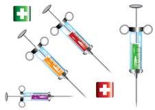 Elementos médicos Foto de archivo