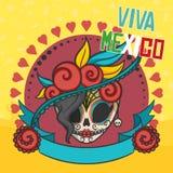 Elementos mexicanos Imagens de Stock Royalty Free