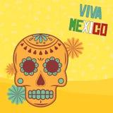 Elementos mexicanos Imagens de Stock