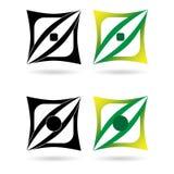 Elementos o logotipos del diseño Imagenes de archivo