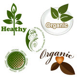 Elementos orgânicos Imagens de Stock Royalty Free