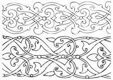 Elementos orientales del diseño libre illustration