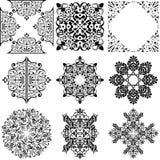 Elementos ornamentales del diseño ilustración del vector