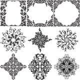 Elementos ornamentales del diseño libre illustration