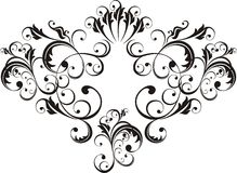 Elementos ornamentales del diseño Imagen de archivo