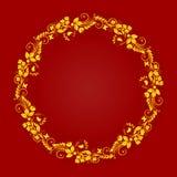 Elementos ornamentales del diseño Foto de archivo libre de regalías