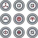 Elementos P. 10d del diseño Fotos de archivo libres de regalías