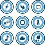 Elementos P. 13a del diseño Imagen de archivo