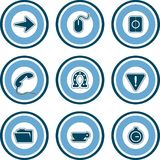 Elementos P. 13b del diseño Imagenes de archivo