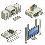 Elementos P. 15a del diseño Fotos de archivo
