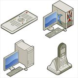Elementos P. 15d del diseño Imagenes de archivo