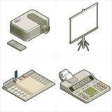 Elementos p.17c del diseño Foto de archivo