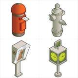 Elementos P. 18a del diseño Imagenes de archivo