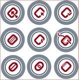 Elementos p.19b del diseño   Imagen de archivo