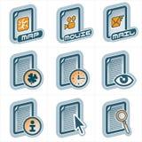 Elementos p.25c del diseño Imagen de archivo