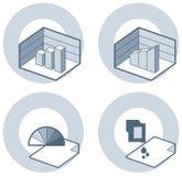 Elementos P. 4i del diseño Imagenes de archivo
