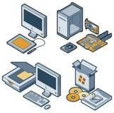 Elementos P. 5c del diseño Fotografía de archivo