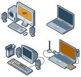 Elementos P. 5d del diseño Imagenes de archivo
