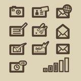Elementos P. 6b del diseño Imágenes de archivo libres de regalías
