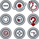 Elementos P. 7d del diseño Imágenes de archivo libres de regalías