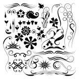 Elementos para el diseño, vector Fotografía de archivo libre de regalías