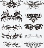Elementos para o projeto ilustração royalty free