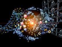 Elementos químicos conceptuais Fotos de Stock