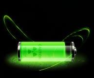 Elementos radioativos Foto de Stock