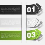 Elementos realistas del diseño Foto de archivo