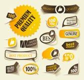 Elementos realistas del diseño Fotografía de archivo libre de regalías