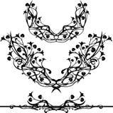 Elementos retros do projeto Ilustração Royalty Free