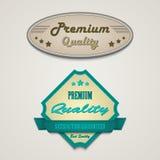 Elementos superiores del diseño web del vintage retro Imágenes de archivo libres de regalías