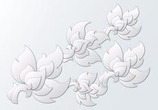 Elementos tailandeses cortados papel del diseño Fotografía de archivo libre de regalías