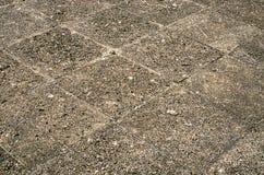 Elementos, textura o fondo del modelo de la piedra de pavimentación Imágenes de archivo libres de regalías