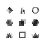 Elementos transparentes del diseño ilustración del vector