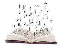 Elementos tridimensionales del musical del vuelo libre illustration