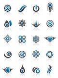 Elementos y gráficos del diseño Imagen de archivo libre de regalías