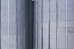 Elementos y textura de un silo del cereal Imagenes de archivo