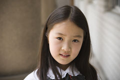 elementär schoolgirl Arkivbilder