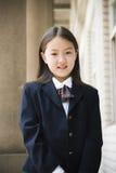 elementär schoolgirl Royaltyfri Fotografi