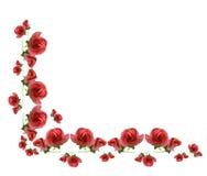 Elementrahmen besteht von der rosafarbenen Blume. Stockbilder