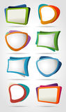 Elements for advertising brochure Royalty Free Stock Photography