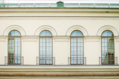 Elements of architecture, close-up stock photo