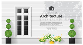 Elements of architecture , window background Stock Photo