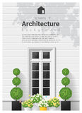 Elements of architecture , window background Stock Photography