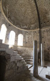 Elements of church architecture place of burial of St. Nicholas. In Demre, Turkey Stock Photos