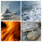 4 elements Royalty Free Stock Images
