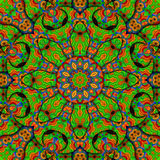 8 elements colored kaleidoscope Royalty Free Stock Image